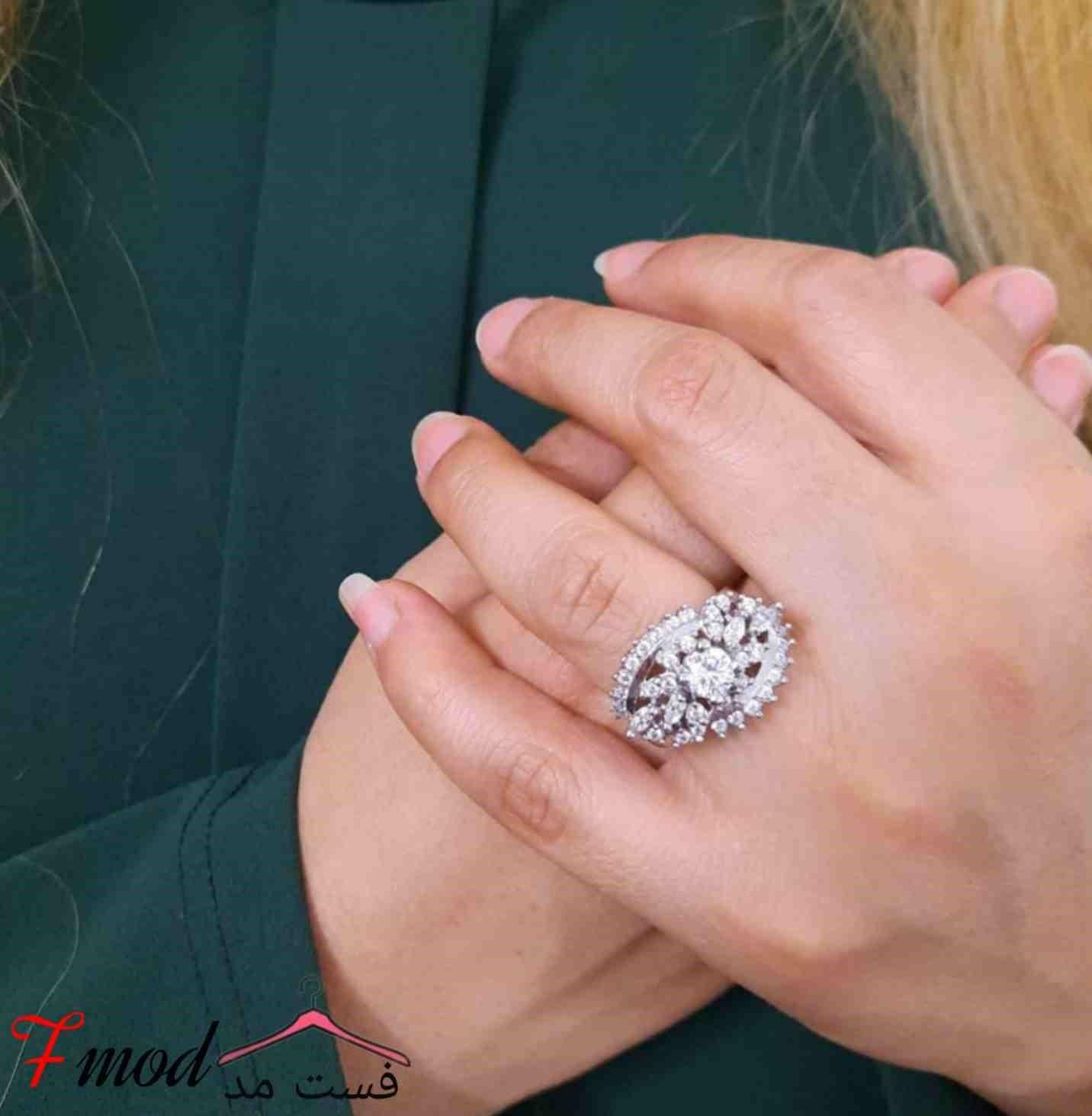 انگشتر نقره زنانه11