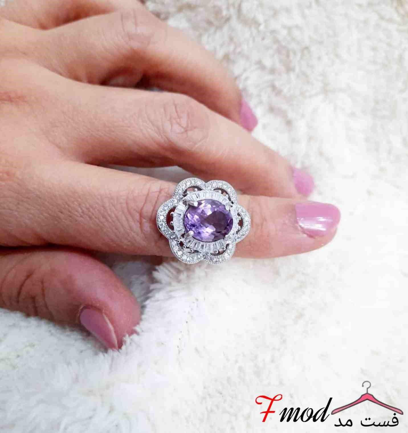 انگشتر نقره زنانه15