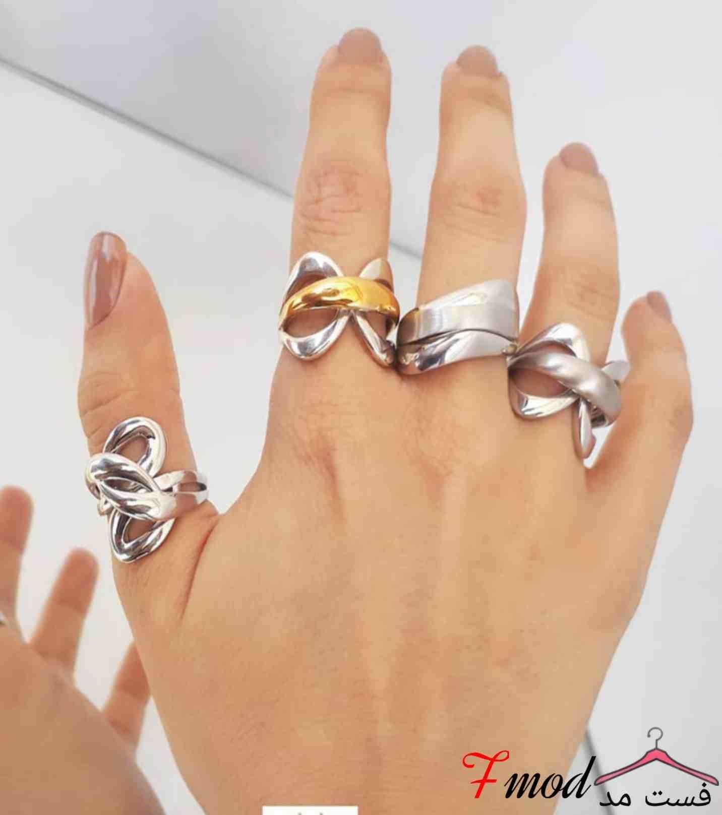 انگشتر نقره زنانه16