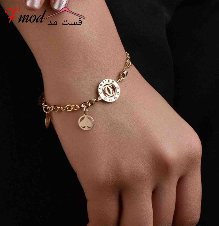 دستبند طلا14