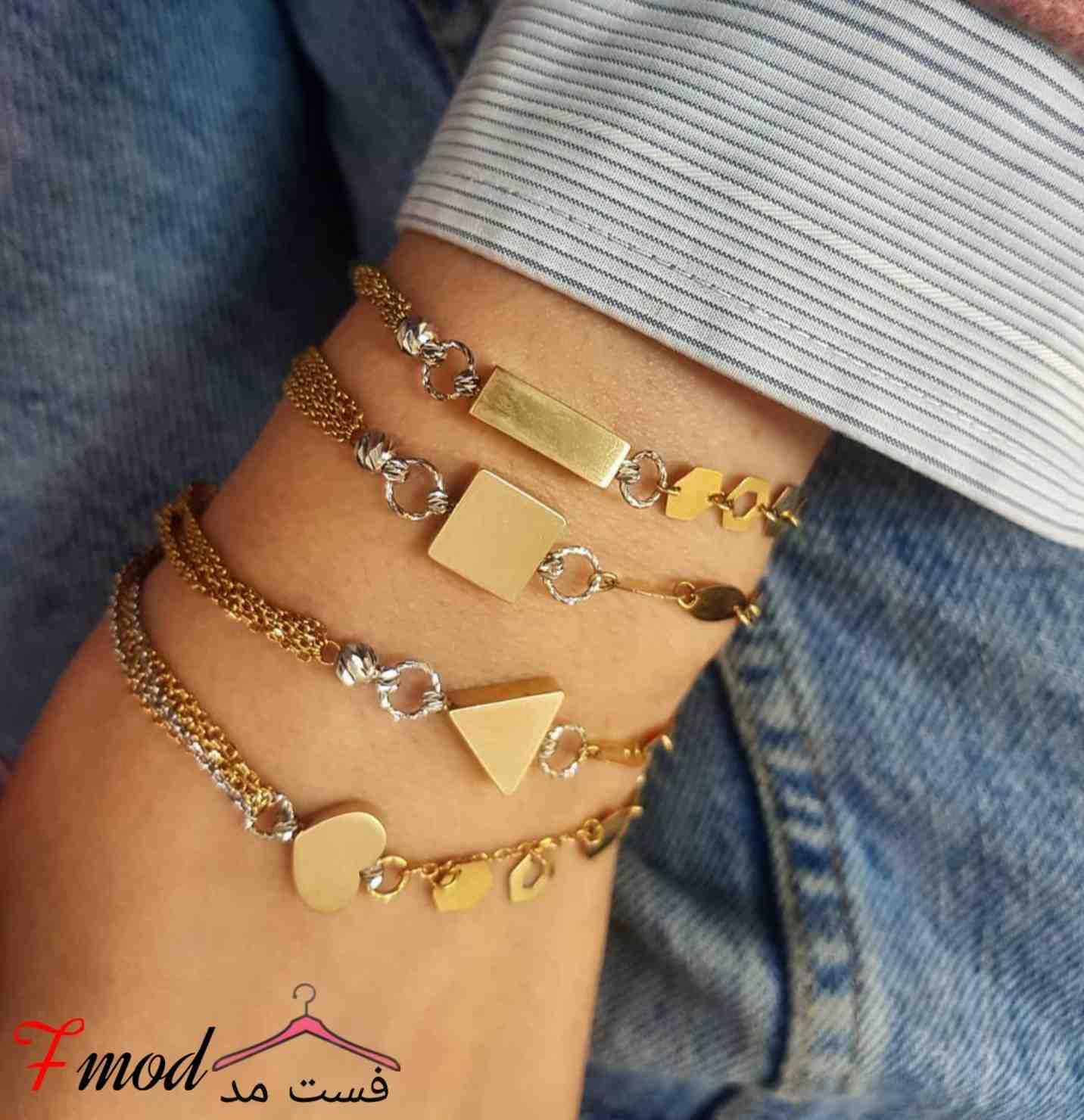 دستبند طلا8