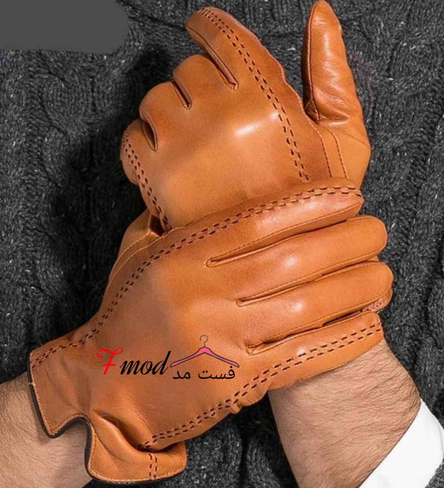 دستکش چرم مردانه12