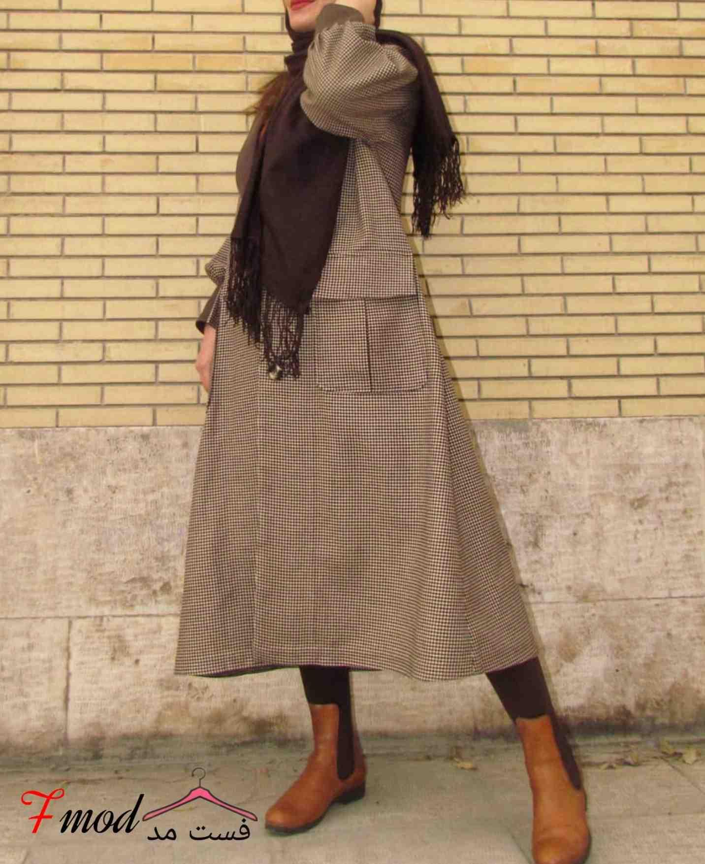 مانتو بلند دخترانه17