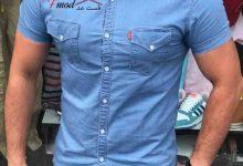 تصویر پیراهن جین مردانه را چطور انتخاب و خریداری کنیم؟
