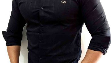 تصویر راهنمای جامع انتخاب و خرید پیراهن مشکی مردانه