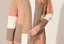 تصویر جذاب ترین ژاکت بافتنی زنانه- مخصوص شیک پوشان