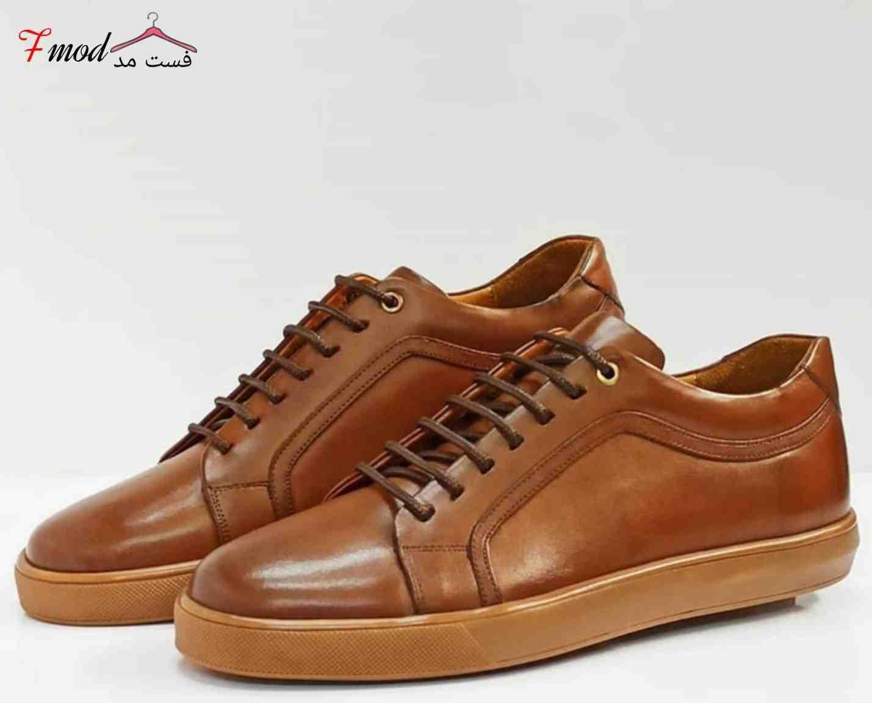 کفش چرم مردانه